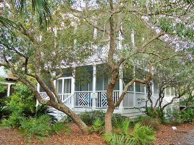 Decked Out ~ Seagrove Beach ~ Front Exterior ~ Paradise Properties