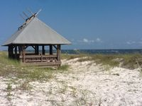 The Forgotten Coast at is finest... a peaceful retreat on Alligator Point.