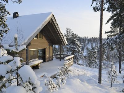 Modern holiday chalet in the Nissedal am Havrefjell, WLAN, canoe, sauna, barbecue, bathing lake