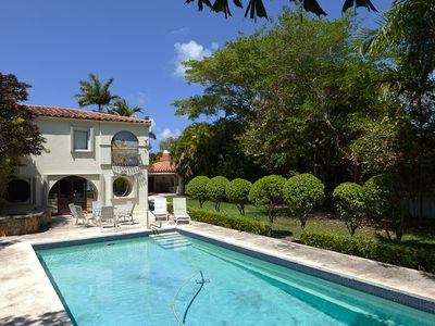 Miami Beach estate rental - Private Deep Pool