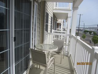 Wildwood condo photo - Balcony!!! Beautiful sunset!