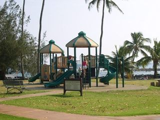 Poipu condo photo - Kid's fun area in Poipu Beach Park
