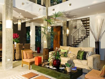 Gorgeous modern decor at Casa de Agua