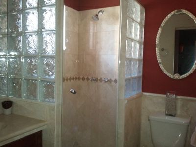 Newly painted master bathroom (August 2012)