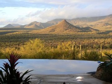 Cave Creek house rental - view from great room