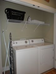 Mexico Beach house photo - Laundry area, iron, ironing board