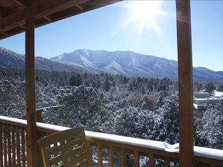 Taos house photo - magnificent view!