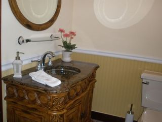 Main floor powder room - Havre de Grace house vacation rental photo