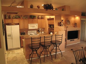 Tucson condo rental - Kitchen