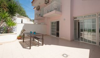 Estoril apartment photo - Spacious back terrace with barbecue!
