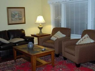 Bakersville cottage photo - Beautifully remodeled and furnished living room.