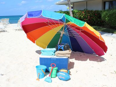 Your own beach gear and toys----to use here or take and explore the island