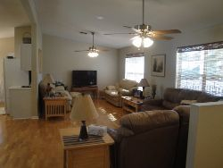 "Palatka house rental - Beautiful Living Area, seats up 15. 52"" Flat Screen /Games/16 DVD'S ..."