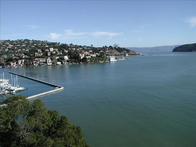 DRAMATIC VIEWS AND ARCHITECTURE AS SEEN ON HGTV-7 NIGHT MINIMUM STAY - Partial view of Tiburon, Angel Island