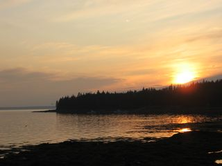Southwest Harbor cottage photo - View from Seal Cove at sunset.