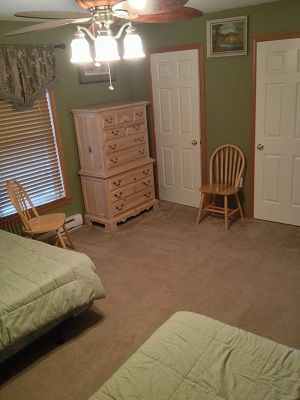 Very spacious rooms with pleanty drawer space