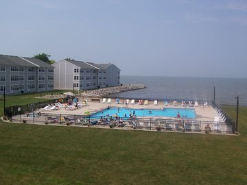 Port Clinton condo rental - View from our sunroom