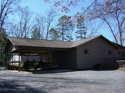 Carport and House