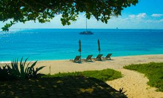 Isla Mujeres estate photo - Beach view