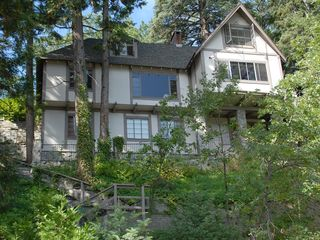 Lake Arrowhead house photo - Lakeview side of the home