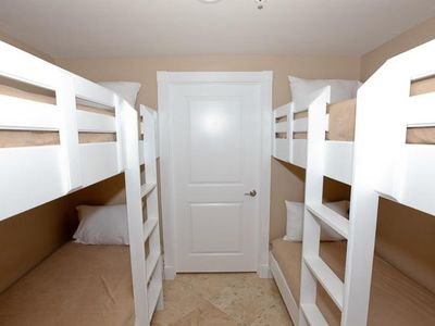 Four Bunks Just Outside Of Bedroom 1