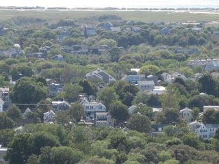 House in middle; beach close by - Provincetown condo vacation rental photo