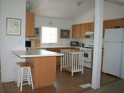 Sequoia Park house rental - Clean kitchen complete with all of the essentials