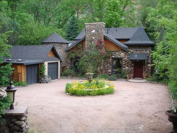 Sedona chateau / country house rental - Chateau Belle Front of House