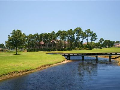 Championship Golf Course on the Bay with multiple water features