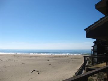 Pajaro Dunes condo rental - View of the Pacific Ocean from the balcony