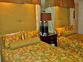 Caravelle Resort condo photo - new tropical bedding