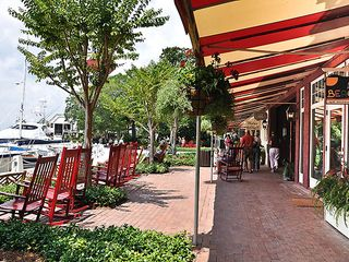 Sea Pines house photo - Great shopping, dining and rocking in Harbour Town