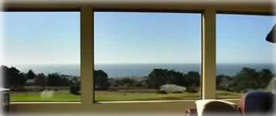 Arcadia House has 180 degree panoramic view of the Sonoma coast from every room!