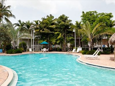 Beautiful pool at our 2 bedroom, 2 bath dream vacation home.