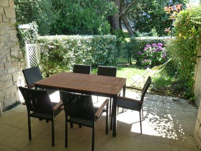 Carnac apartment with private garden 200m from the most beautiful beaches