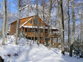 Morganton cabin photo - Christmas photo.