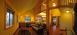 Pagosa Springs house photo - Casita Living with Bath, 2 Queen Bedrooms, Kitchen, Living and Foosball at Loft