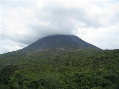 Arenal Volcano one of the attractions you are able to enjoy from Reserva Conchal