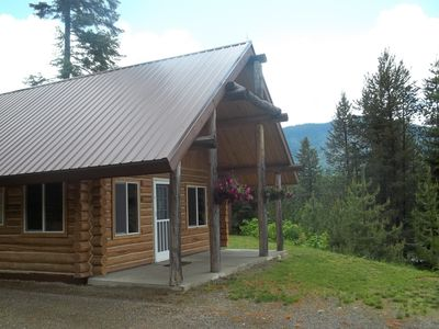 Front of cabin Summer