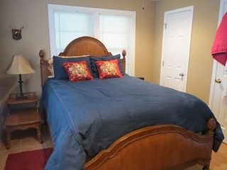 Kingsland house photo - View of queen size bed in master