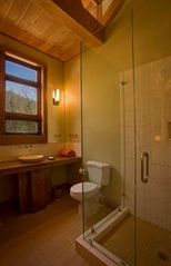 Lake Glenville house photo - Guest bathroom