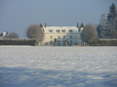 Eure castle rental - Winter at Chateau du Jonquay