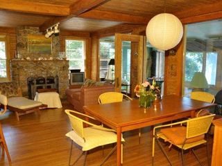 Main house - Dining-living room area - Canandaigua cottage vacation rental photo