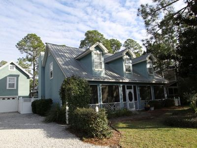 Barefoot Bliss,Seagrove Beach,Large Heated/Screened Pool,Pet Friendly