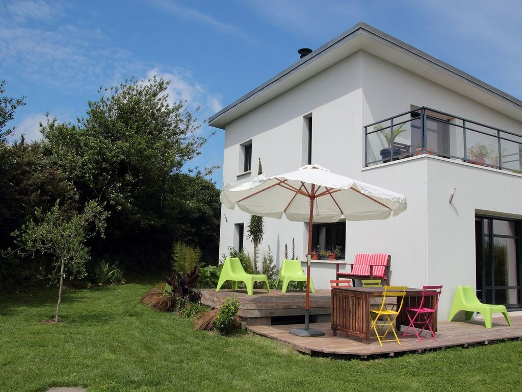 Crozon: house modern sea view, close...   homeaway crozon