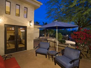 Scottsdale estate photo - Outdoor Private Lounge Area