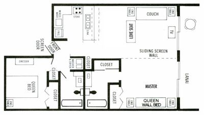 Floor Plan of Condo