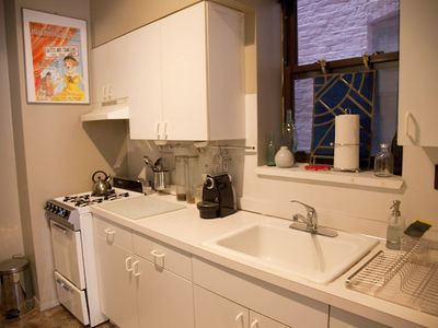 Greenwich Village apartment rental - kitchen