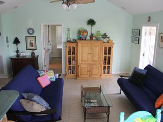 Dauphin Island property rental photo - This is living on beach time