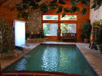 Pioneer Trail house rental - Your Own Private Heated Pool, Waterfall, Fireplace....Heaven!